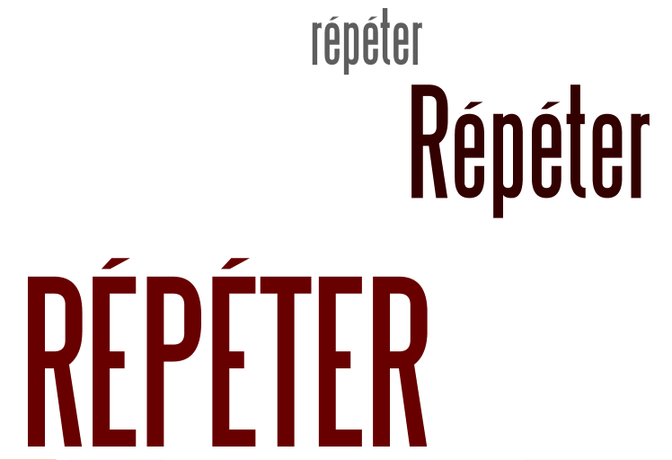 repeter