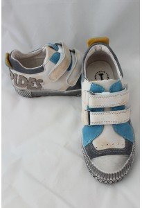 chaussures-intrepides-kalvin-blanc-gris-et-turquoise-babybotte