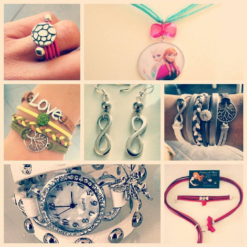 De jolis bijoux fantaisies avec «Les créations de Marie»