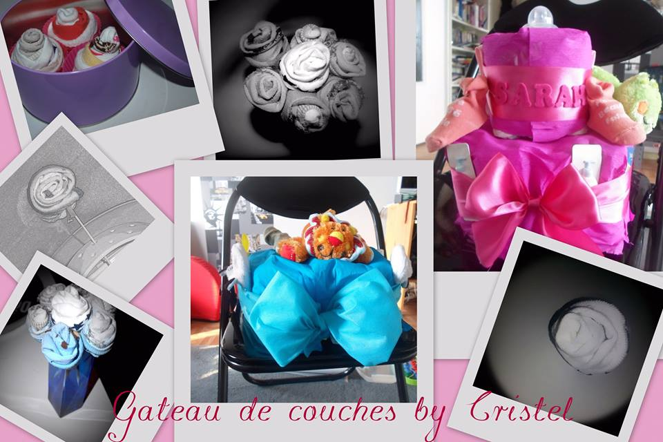 gateaux de couches by cristel