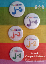 magnets decompte vacances