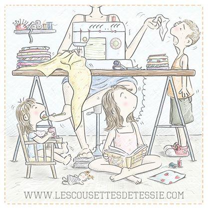 De jolies créations avec «Chez Tessie, couture & co» #BlogAnniv1