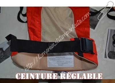 ceinture reglable pognae