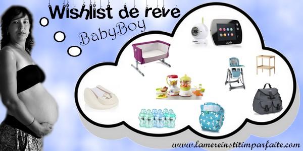 { Grossesse } Ma wishlist de rêve pour BabyBoy ( puériculture)
