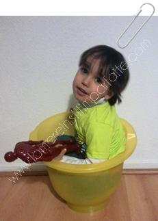 shantala baignoire jaune