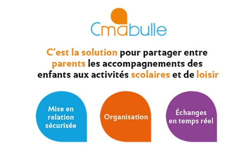 Cmabulle : La 1ère plateforme collaborative qui redonne du temps aux parents surbookés { Application }