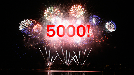 5000 facebook fans page