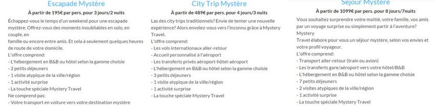 choix mystery travel avis temoignages
