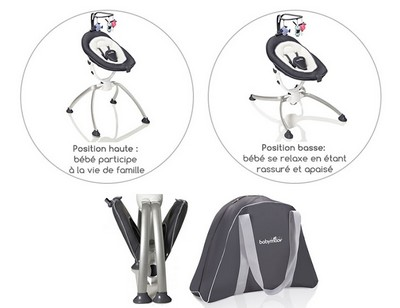 swoon up transat multiposition de babymoov