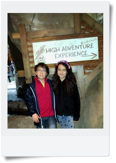high adventure center parcs