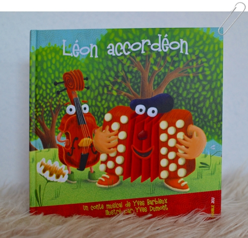 livre cd leon accordeon