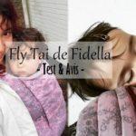 Le fly tai de Fidella – Porte bébé physiologique {Test et Avis – Portage Physio #17}