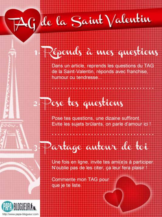 Le TAG de la Saint Valentin