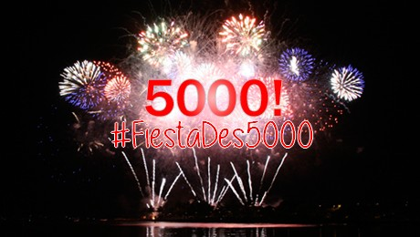 Concours 5 #FiestaDes5000 avec Licence G