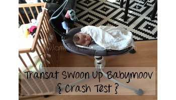 { Test & Avis } Le transat swoon up de Babymoov