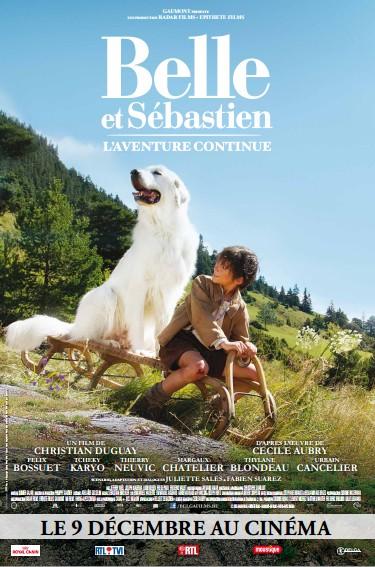 Belle et Sébastien 2 : L'aventure continue { Concours inside }