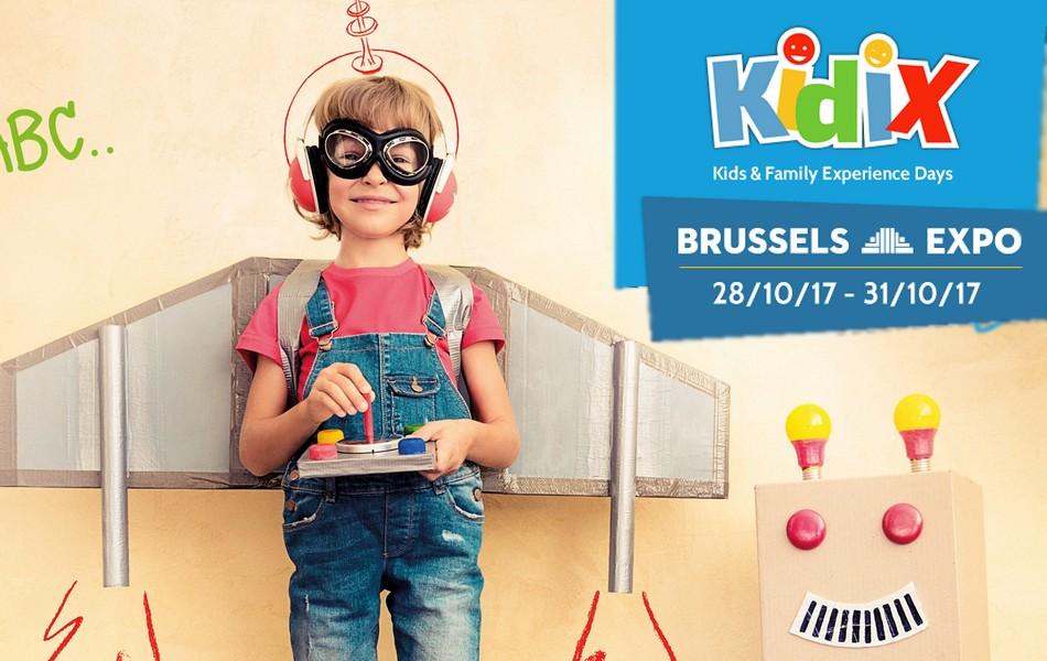 Salon Kidix, venez vivre une journée inoubliable à Brussels Expo + Concours { Sortir en famille à Bruxelles }