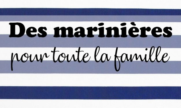 Sélection shopping : Des marinières pour toute la famille